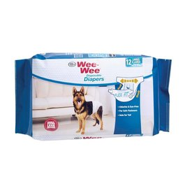 Wee-Wee Disposable Diapers 12 Pack Large/XL