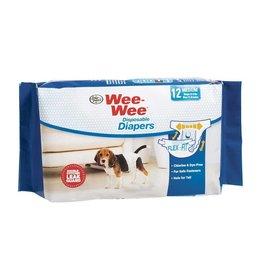 Wee-Wee Disposable Diapers 12 Pack Medium