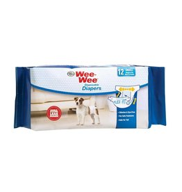 Wee-Wee Disposable Diapers 12 Pack Small