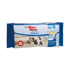 Wee-Wee Wee-Wee Disposable Diapers  12 Pack XS