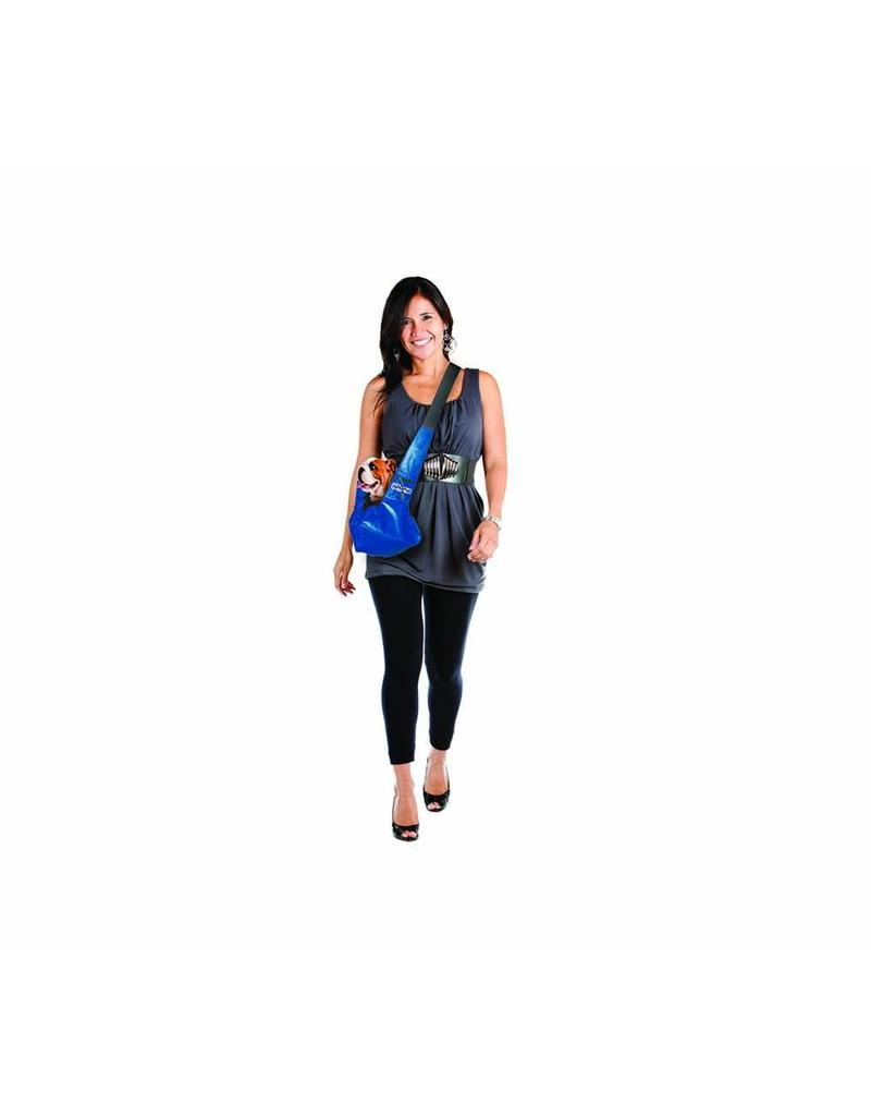 Outward Hound Pooch Pouch Sling Carrier Blue