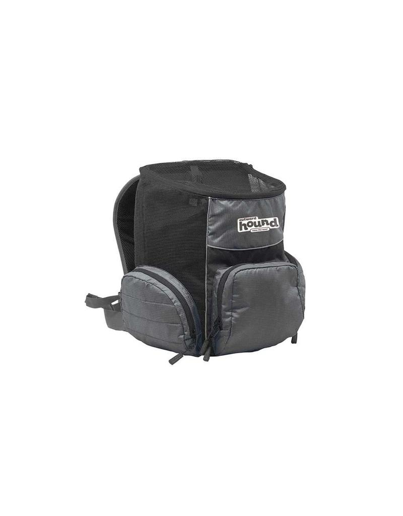 Outward Hound Pooch Pouch Backpack Gray