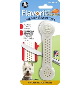 Pet Qwerks Flavorit™ Bone Chicken Flavor Infused Medium
