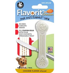 Pet Qwerks Flavorit™ Bone Chicken Flavor Infused Small