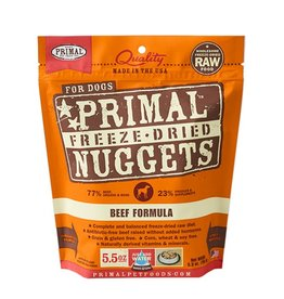 Primal Canine Freeze-Dried Raw Nuggets Beef 5.5oz