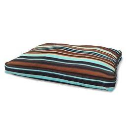 FurHaven Deluxe Indoor-Outdoor Pillow - Lrg Espresso