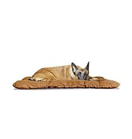 FurHaven Reversible Terry & Suede Crate Mat - XS - Camel