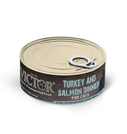 Victor Cat Can Turkey & Salmon Pate 5.5oz