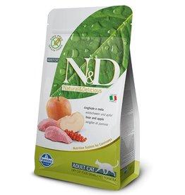 Farmina Adult Cat Boar and Apple Grain Free, 3.3 lbs.