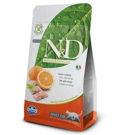 Farmina Adult Cat Fish & Orange Grain Free, 3.3 lbs.