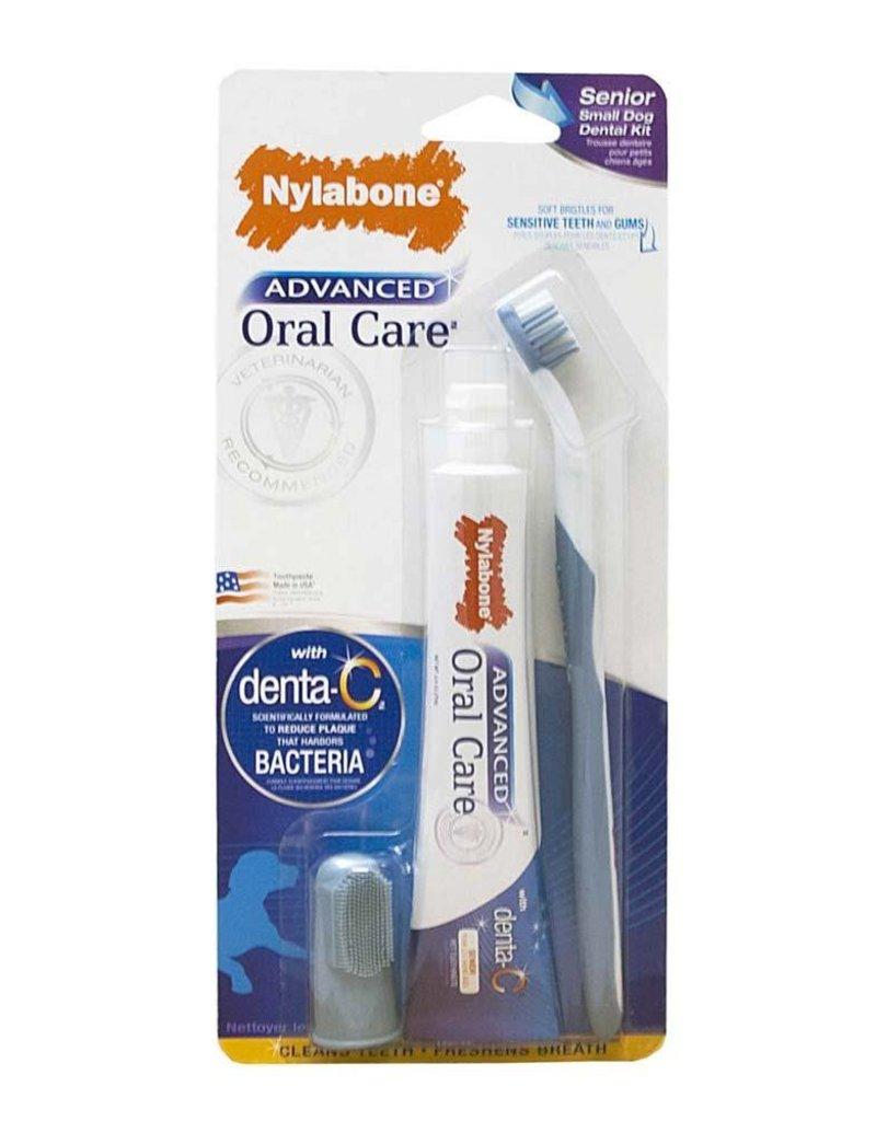 Nylabone Advanced Oral Care Small Senior Dog Dental Kit