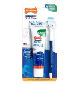 Nylabone Advanced Oral Care Triple Action brush w/ Gel