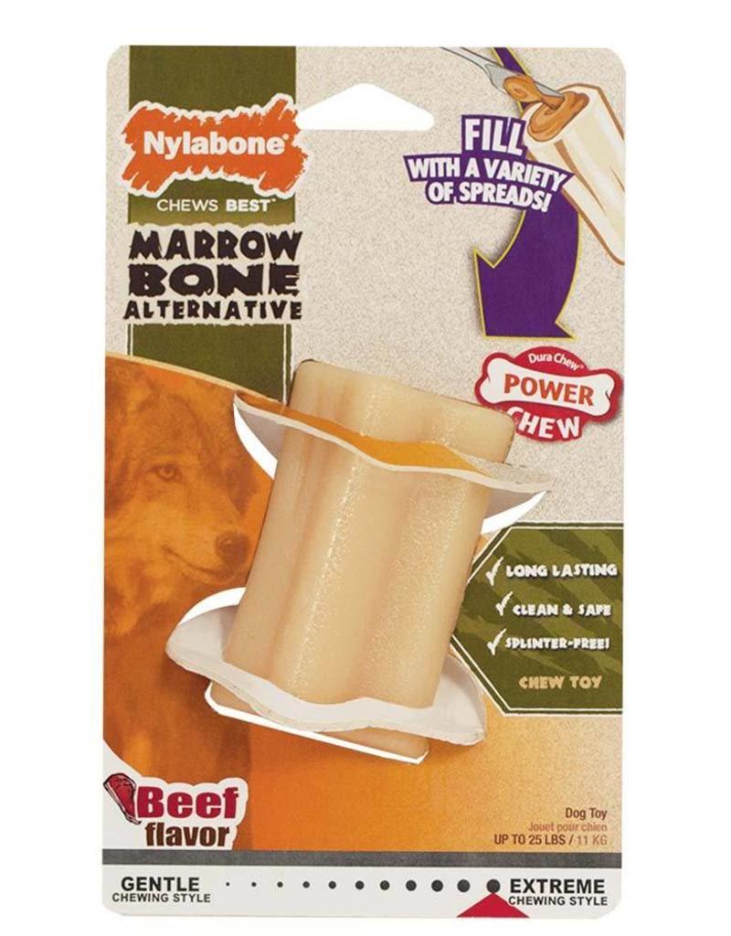 Nylabone Power Chew Marrow Bone Alternative Beef