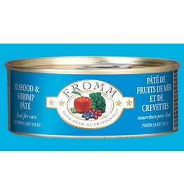 Fromm Family Cat Grain Free Seafood & Shrimp Pate' 5.5oz