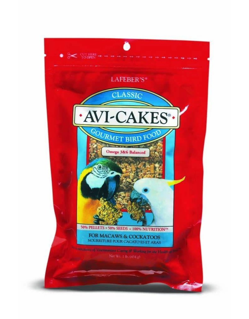 Lafeber's Classic Avi-Cakes Macaw & Cockatoo 16oz