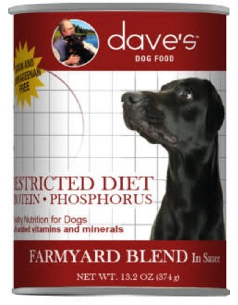 Dave's Dog Restricted Diet Farmyard Blend 13.2oz