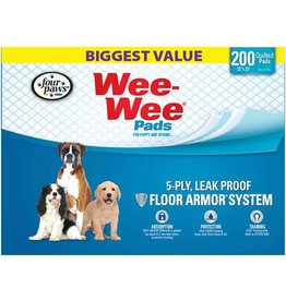Four Paws Wee Wee Pads 200pk