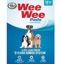 Four Paws Wee Wee Pads 10pk