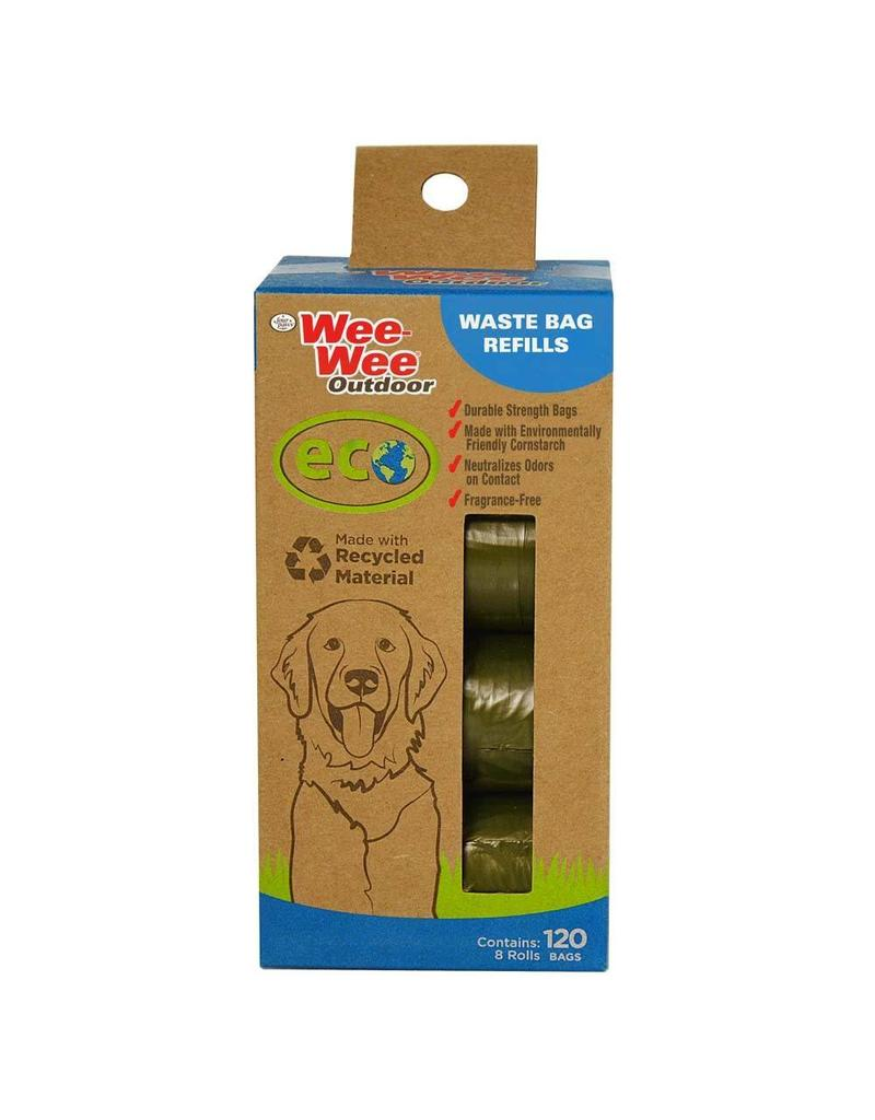 Four Paws Wee-Wee Eco Waste Bags - 120 ct.
