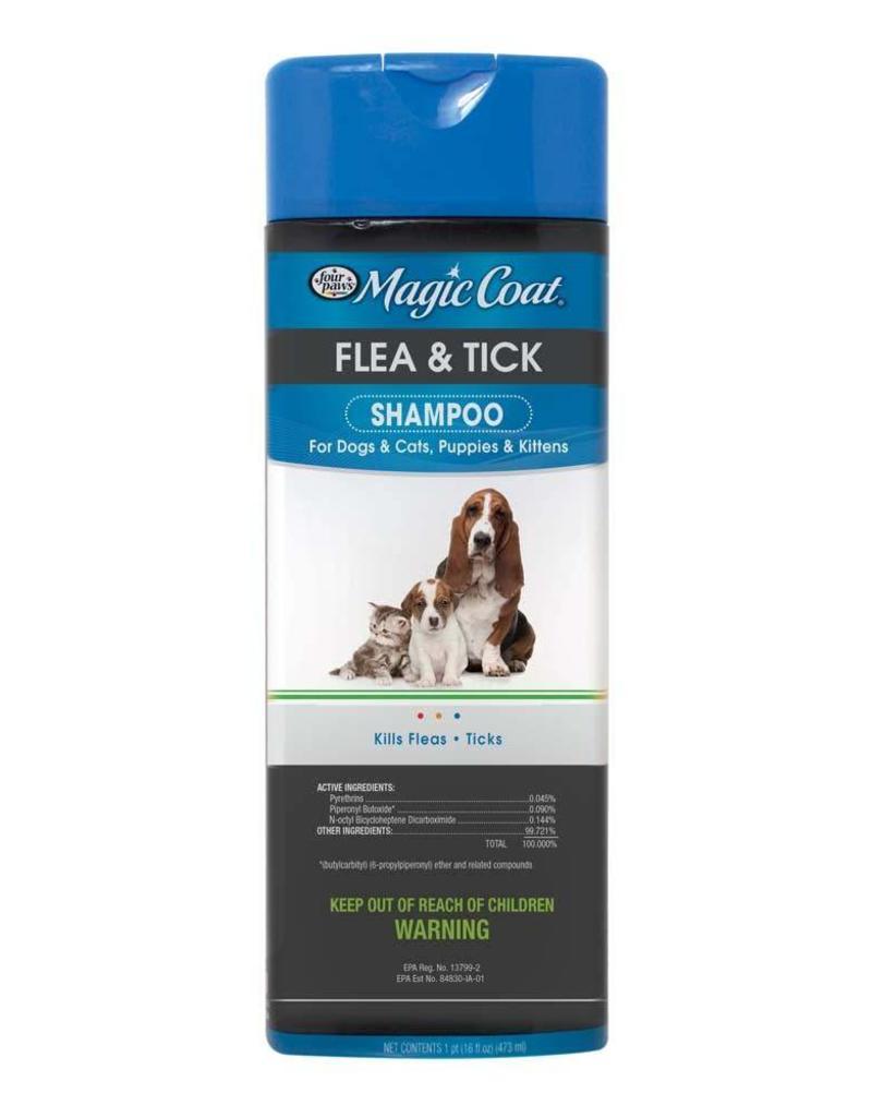 Magic Coat Flea & Tick Shampoo 16oz