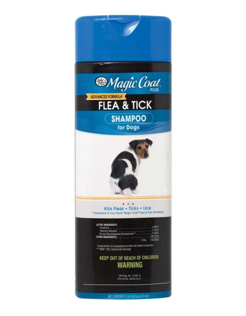 Magic Coat Plus Flea and Tick Shampoo 16oz