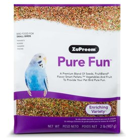 ZuPreem Pure Fun Bird Food for Small Birds 2lb