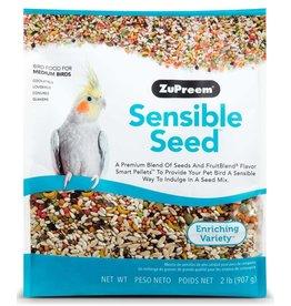 ZuPreem Sensible Seed Bird Food for Medium Birds 2lb