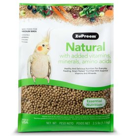 ZuPreem Natural for Medium Birds 2.5lb