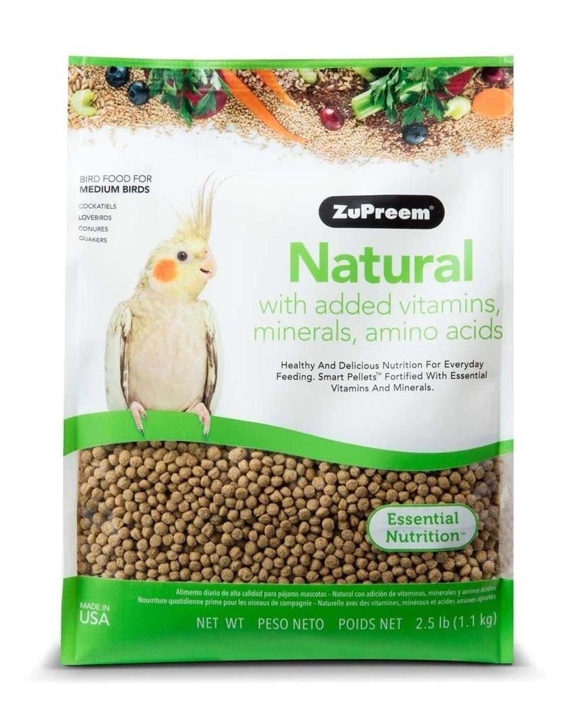 ZuPreem Natural for Medium Birds 2.5lb