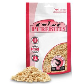 Pure Bites Freezed Dried Shrimp Cat Treats .28oz