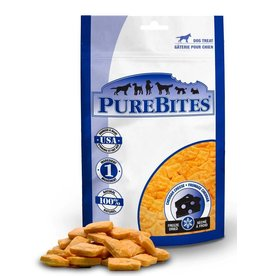 Pure Bites Freeze Dried Cheddar Cheese Dog Treats 4.2oz
