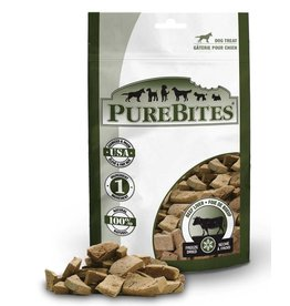 Pure Bites Freeze Dried Beef Liver Dog Treats 4.2oz