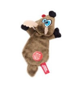 Hear Doggy! Flat Deer with Silent Squeaker