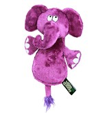 Hear Doggy! Flat Elephant with Silent Squeaker
