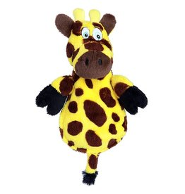 Hear Doggy! Flat Giraffe with Silent Squeaker