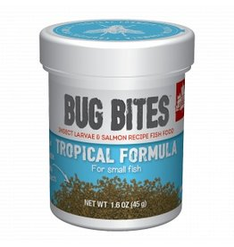 Fluval Bug Bites Small Tropical Fish Granules 1.6oz