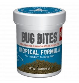Fluval Bug Bites Medium to Large Tropical Fish Granules 1.6oz
