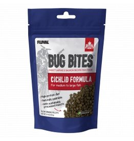Fluval Bug Bites Medium to Large Cichlid Pellets 3.5oz