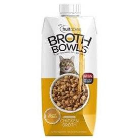 Fruitables Broth Bowl Chicken Cat 16.9oz
