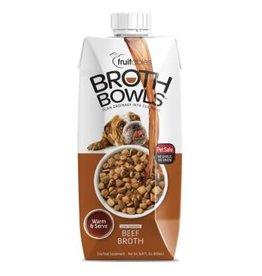 Fruitables Broth Bowl Beef 16.9oz