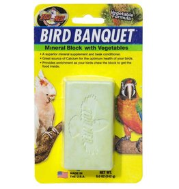 Zoo Med Laboratories Bird Banquet Block Veggie Formula Large