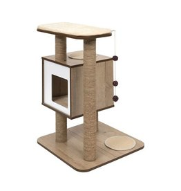 Vesper Cat Furniture  Base Oak