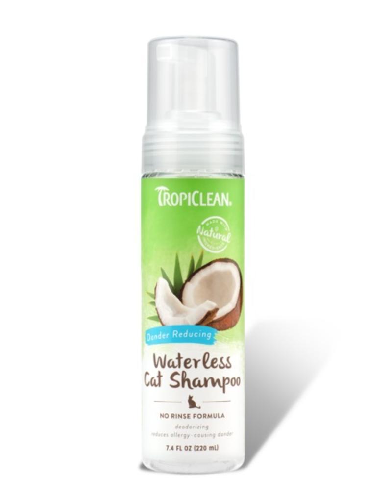 TropiClean Cat Waterless Shampoo Dander Reducing