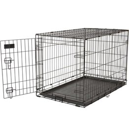 Precision Pet Products Care Crate Black 36x23x25in