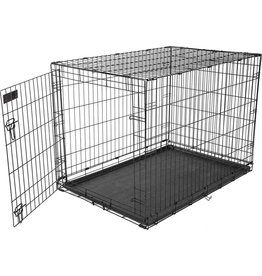 Precision Pet Products Care Crate Black 42x28x30in