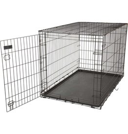 Precision Pet Products Care Crate Black 48x30x33in