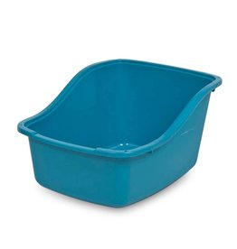 Petmate Hi-back Litter Pan Blue Large