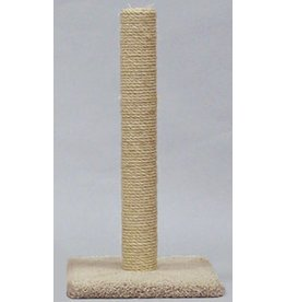 North American Pet Classy Kitty All Sisal Cat Post 32in