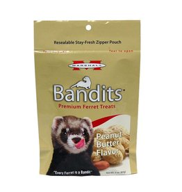 Marshall Farms Bandits Ferret Treat, Peanut Butter, 3oz