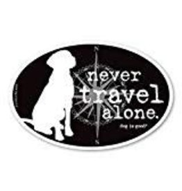 Dog Is Good Magnet Never Travel Alone